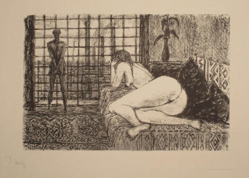"""Abbildung 1: """"Begegnung VI"""" von Fritz Cremer"""