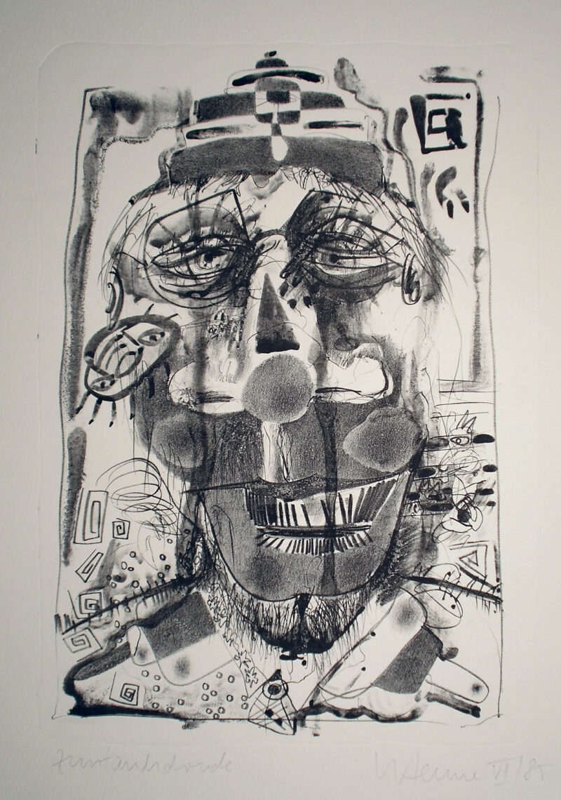 """Abbildung von """"Clown 85/VII"""""""