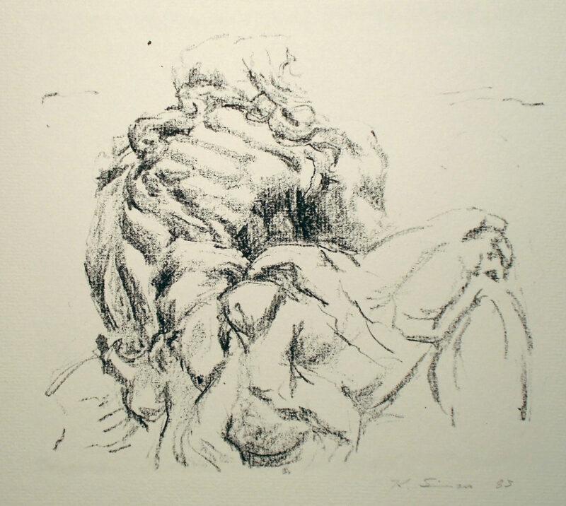 """Abbildung von """"Kuks, Eremit  II"""""""