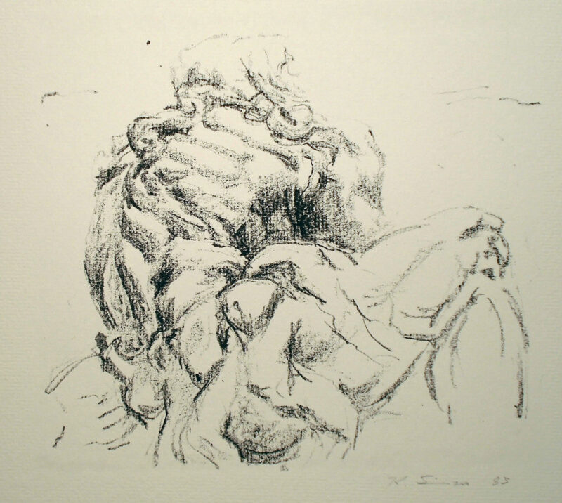 "Abbildung 1: ""Kuks, Eremit  II"" von Klaus Simon"