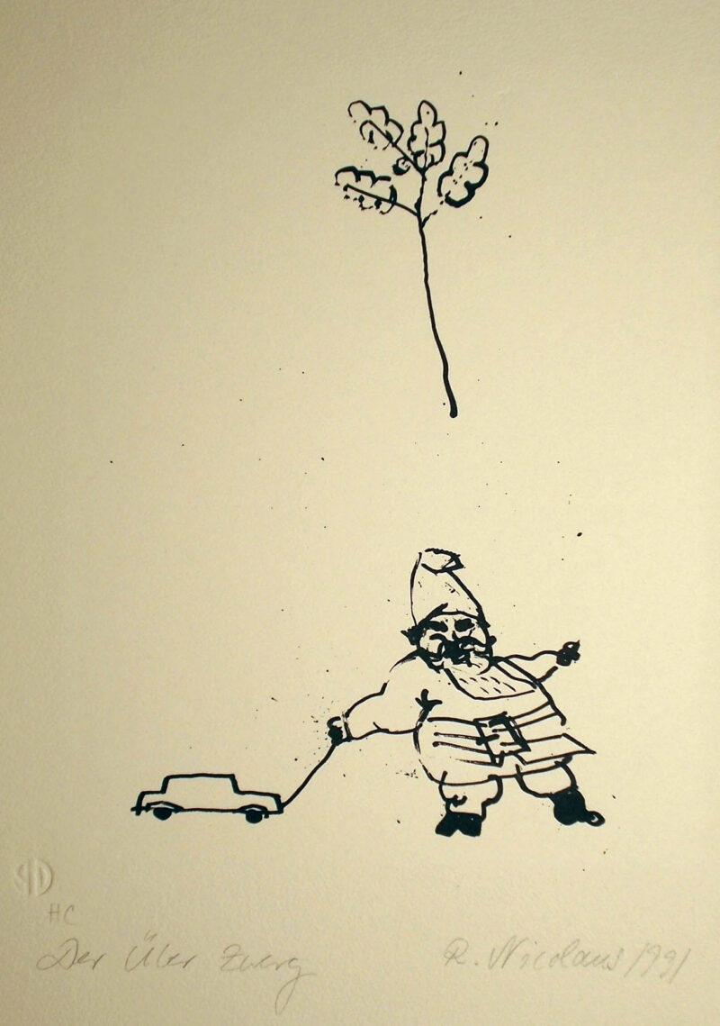 """Abbildung 1: """"Der Überzwerg"""" von Roland Nicolaus"""