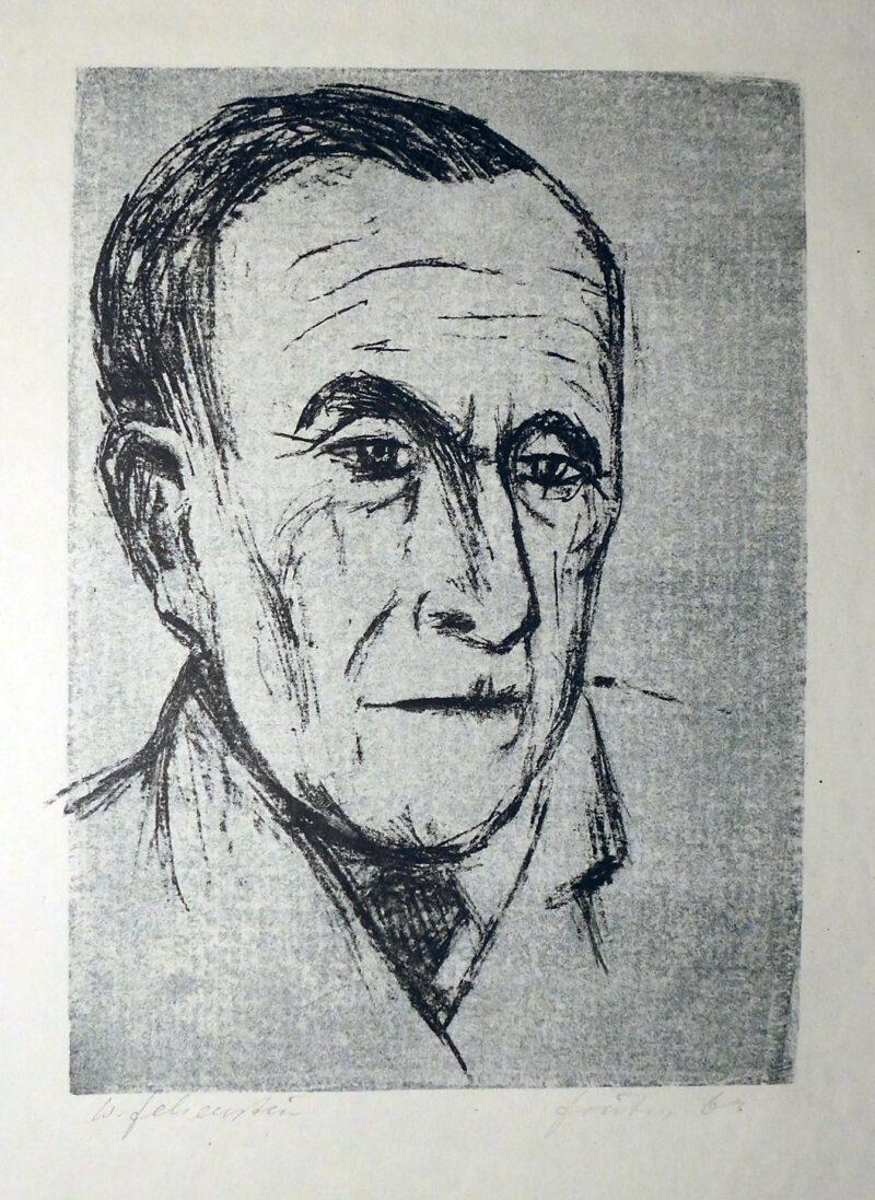 """Abbildung von """"Porträt Walter Felsenstein"""""""