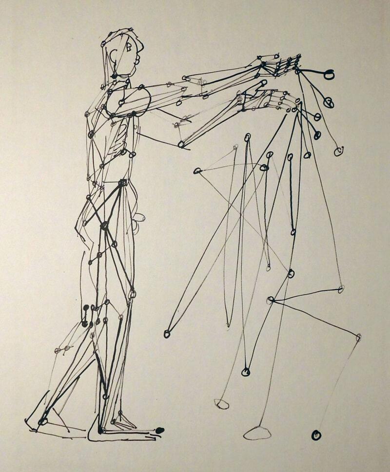"""Abbildung 1: """"Der Zauberer"""" von Gustav Seitz"""