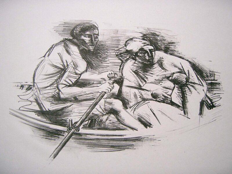 """Abbildung von """"Famiglia di Pescatori"""""""