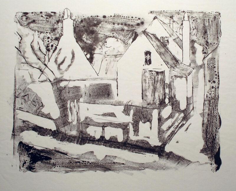 "Abbildung 1: ""Aus Aaresdale - Bornholm"" von Rudi Lesser"