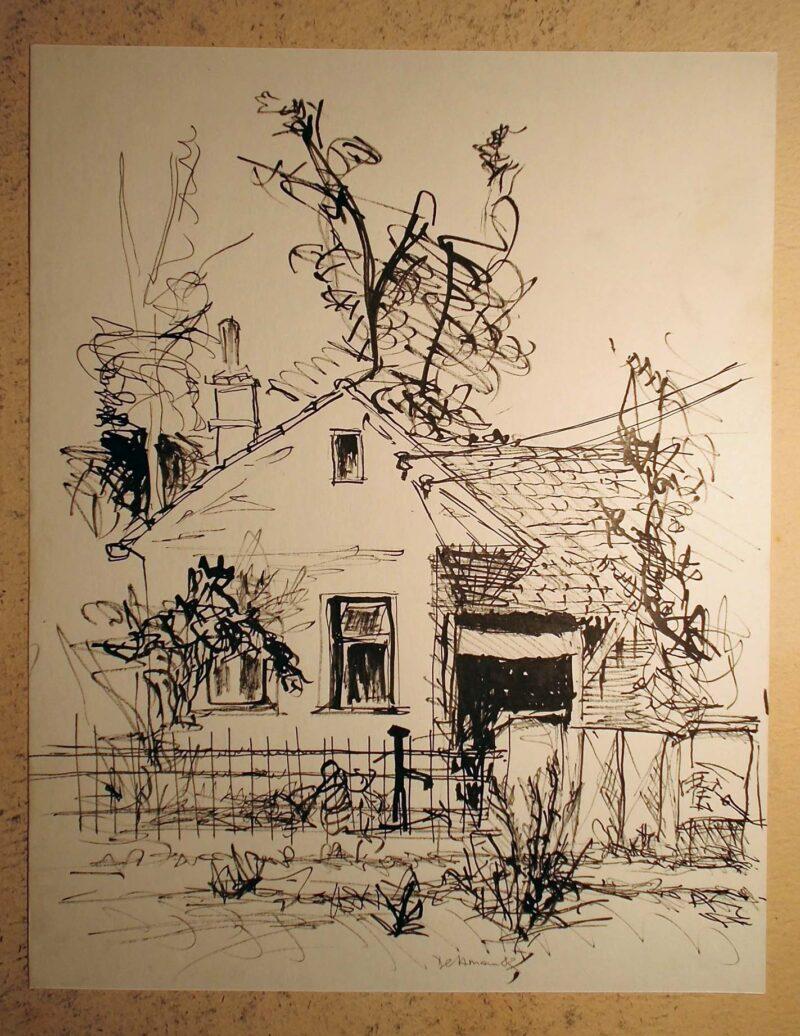 """Abbildung 1: """"In böhmischen Dörfern VII"""" von Peter Dettmann"""