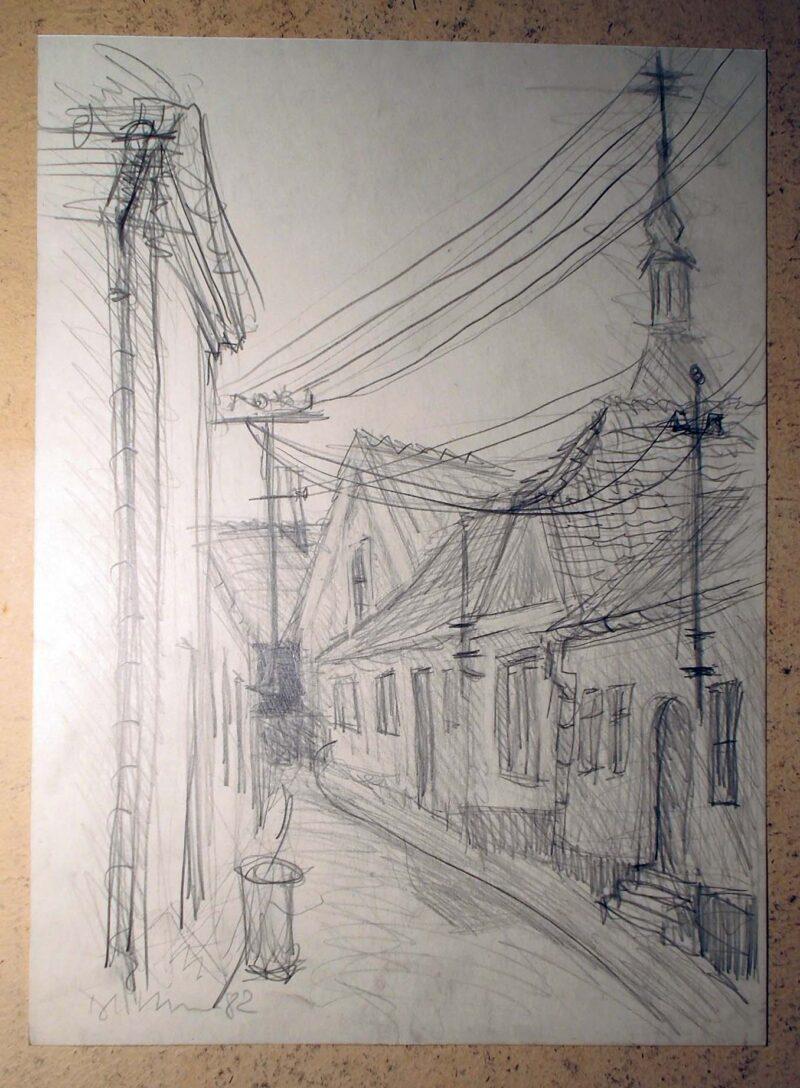 """Abbildung 1: """"In böhmischen Dörfern X"""" von Peter Dettmann"""