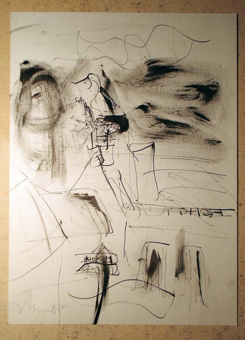 """Abbildung 1: """"In böhmischen Dörfern XIII"""" von Peter Dettmann"""