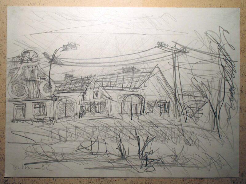 """Abbildung 1: """"In böhmischen Dörfern IX"""" von Peter Dettmann"""
