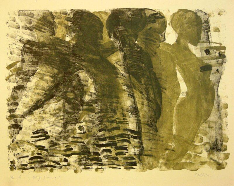"""Abbildung 1: """"Begegnung II"""" von Marcel Peltier"""