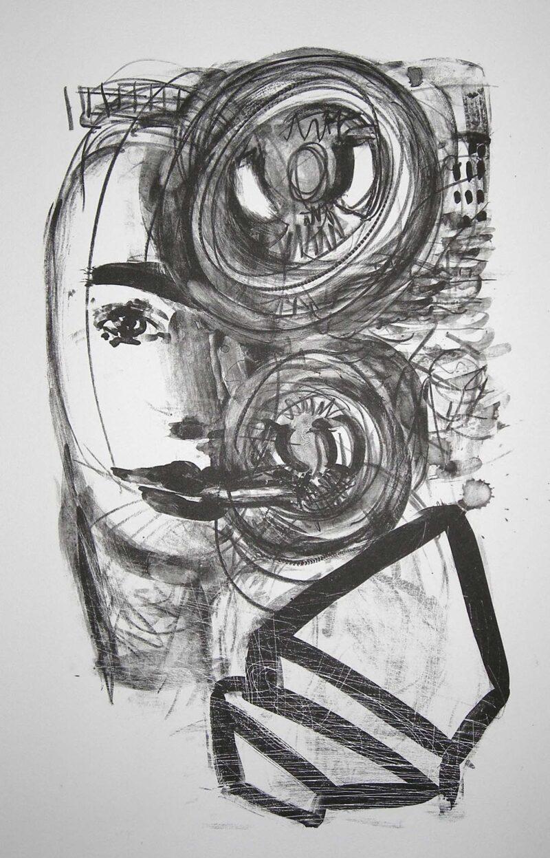 """Abbildung 1: """"Homo bulla II"""" von Ellen Fuhr"""