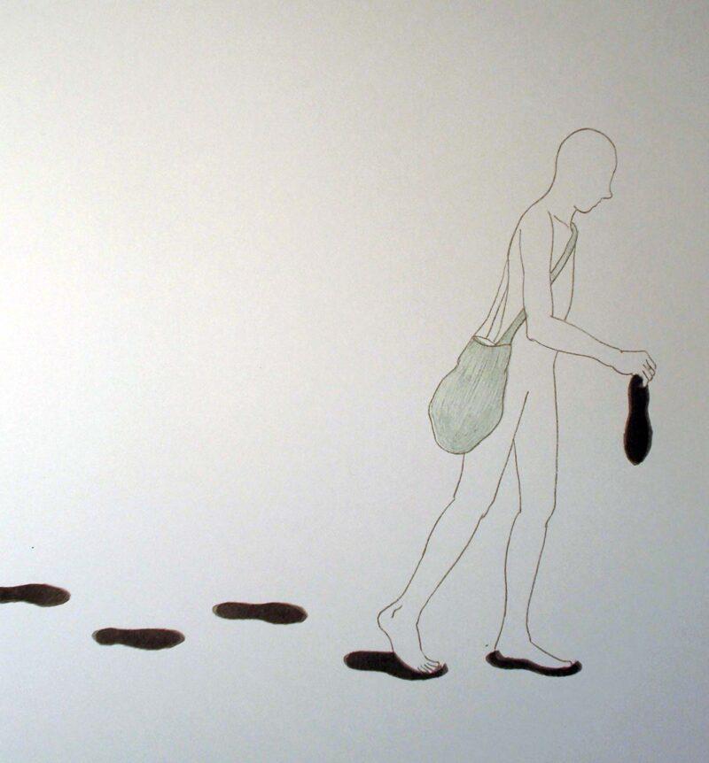 """Abbildung von """"Fußspur"""""""