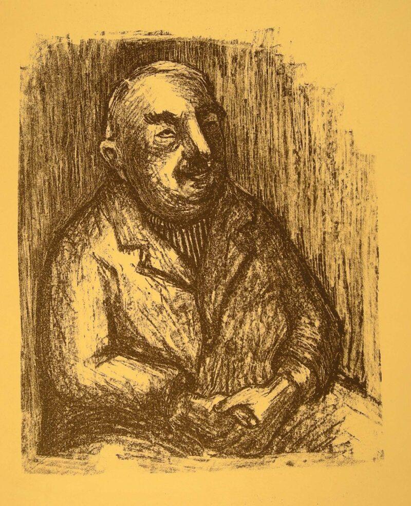 """Abbildung von """"(Porträt eines alten Mannes)"""""""