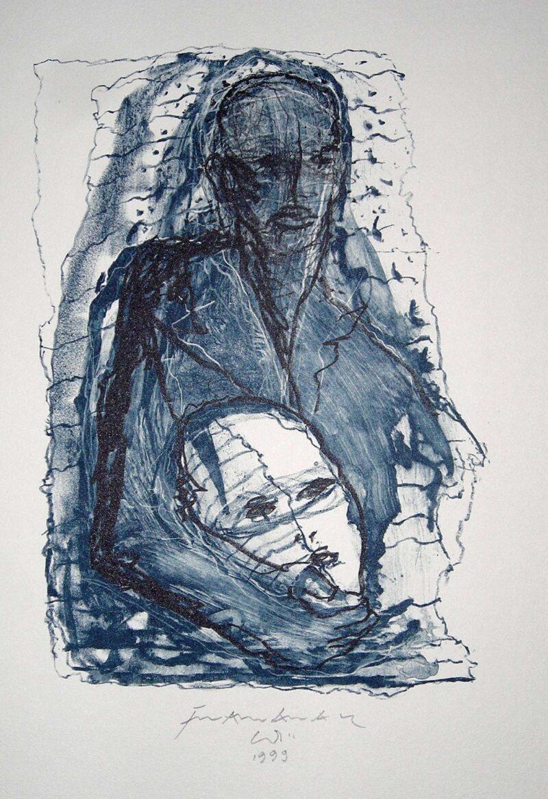 """Abbildung 1: """"Beschützer"""" von Franz-Anatol Wyss"""