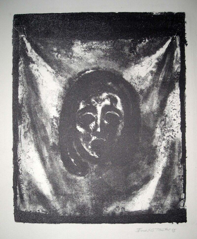 """Abbildung 1: """"Das Schweißtuch der heiligen Veronika"""" von Ernest G. Reuter"""