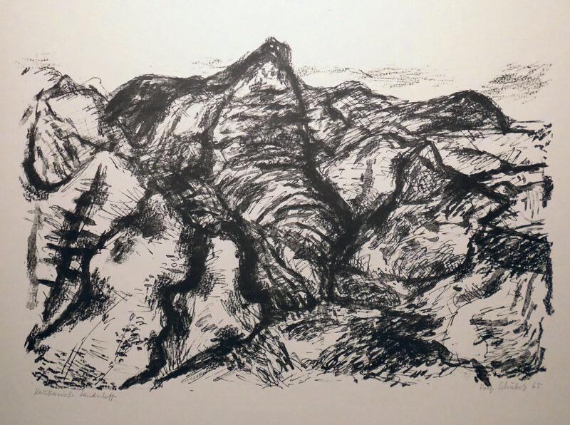 """Abbildung von """"Kaukasische Landschaft"""""""