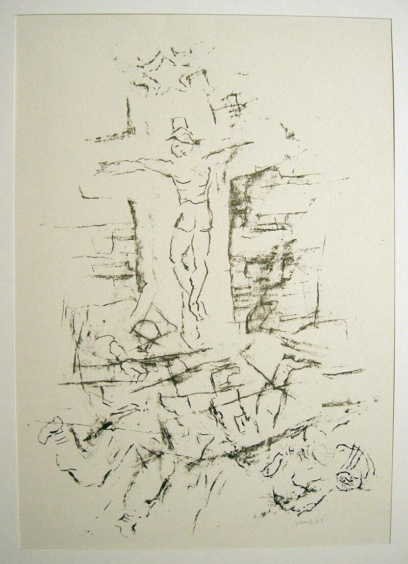 "Abbildung 1: ""Kreuzigung"" von Eva Vent"