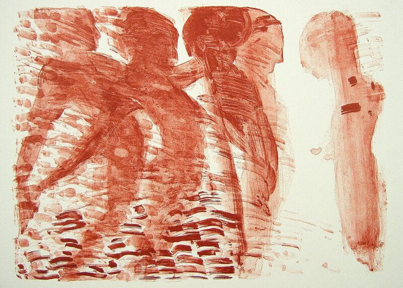"""Abbildung 1: """"(Badende III)"""" von Marcel Peltier"""