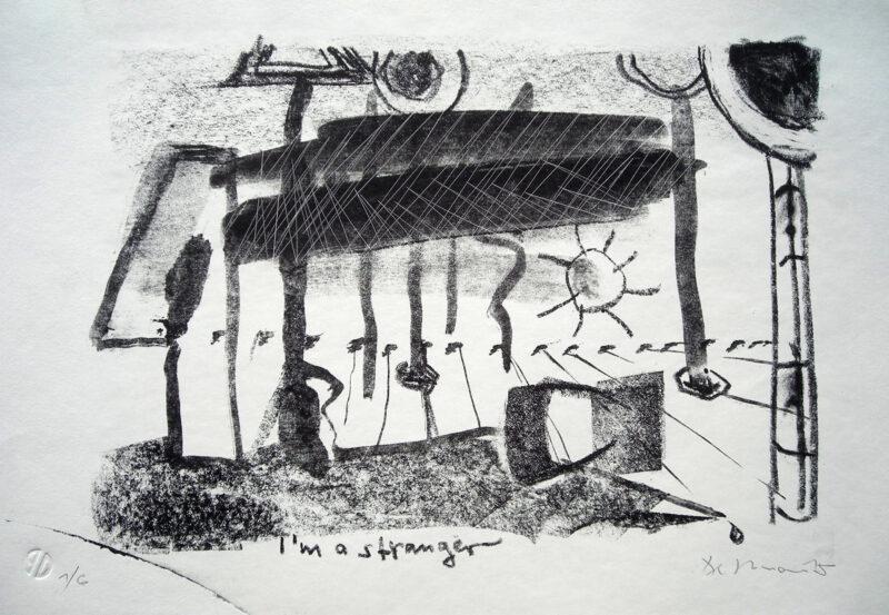 "Abbildung 1: ""I'm a stranger"" von Peter Dettmann"