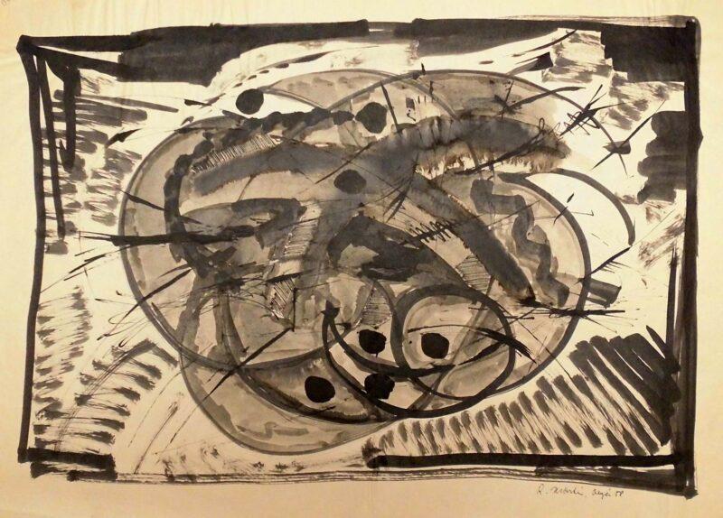 "Abbildung 1: ""(o.T. 23)"" von Roger Martin"