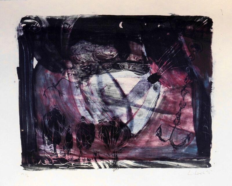 """Abbildung 1: """"Untier trifft Fliegenden Holländer"""" von Peter Dettmann"""