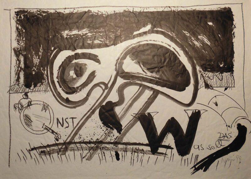 """Abbildung 1: """"Qnst - Was soll das?"""" von Peter Dettmann"""
