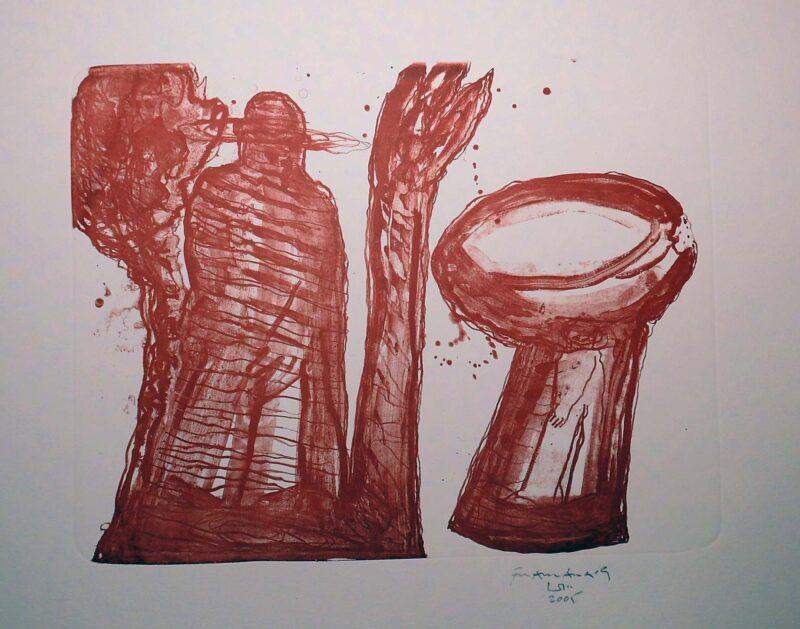 """Abbildung 1: """"(Baum oder Becken)"""" von Franz-Anatol Wyss"""