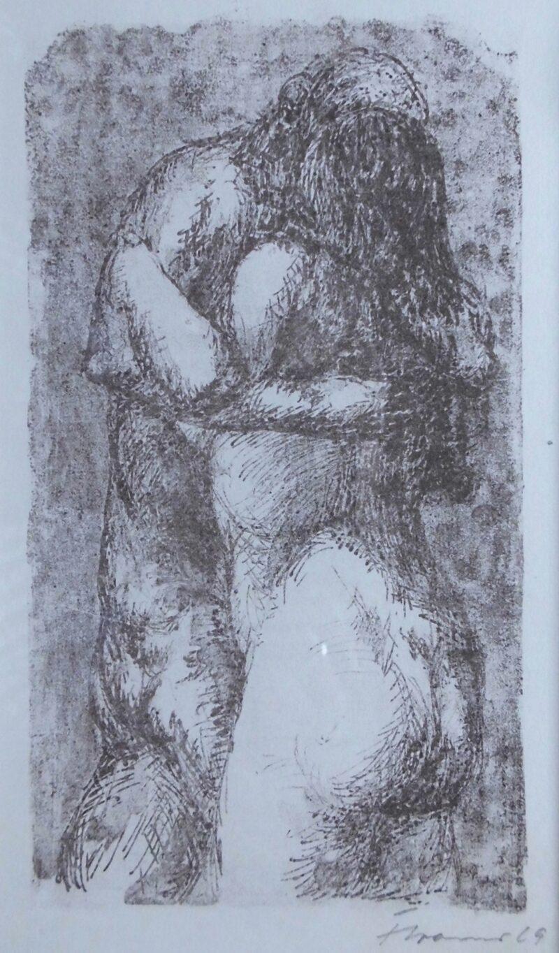 """Abbildung von """"Liebespaar"""""""