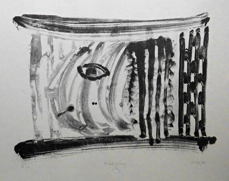 """Abbildung 1: """"mal sehen"""" von Peter Dettmann"""