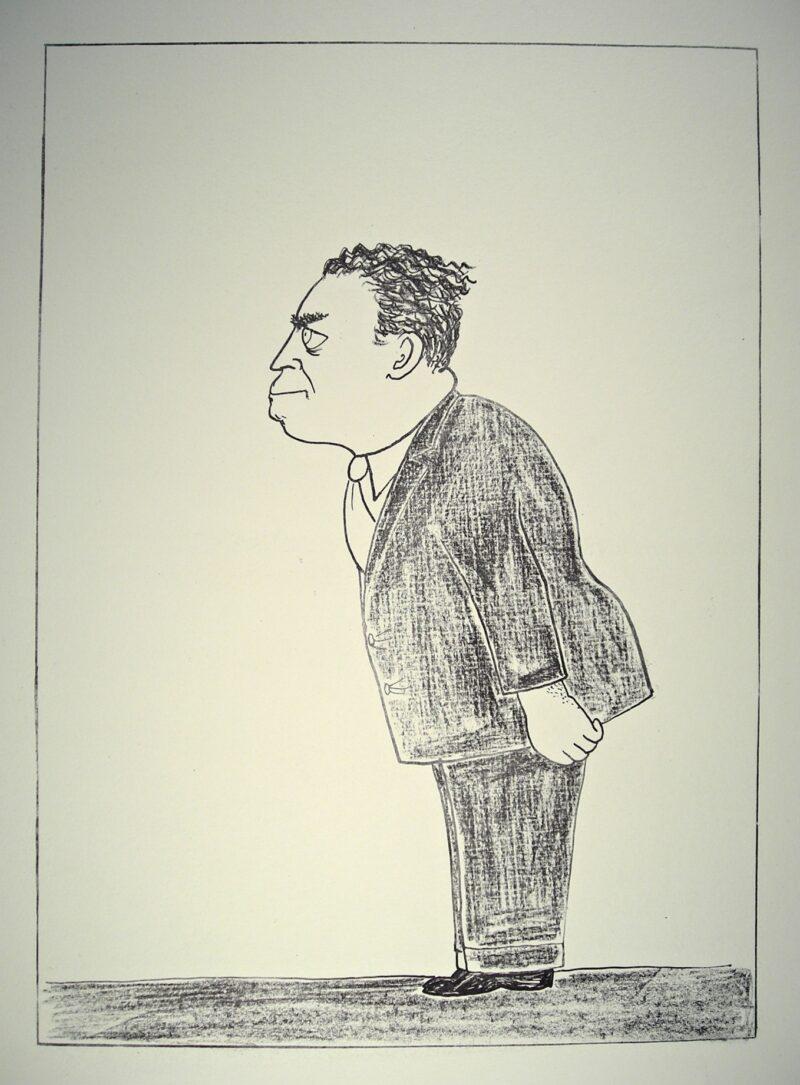 """Abbildung von """"Hans Rodenberg, Intendant"""""""
