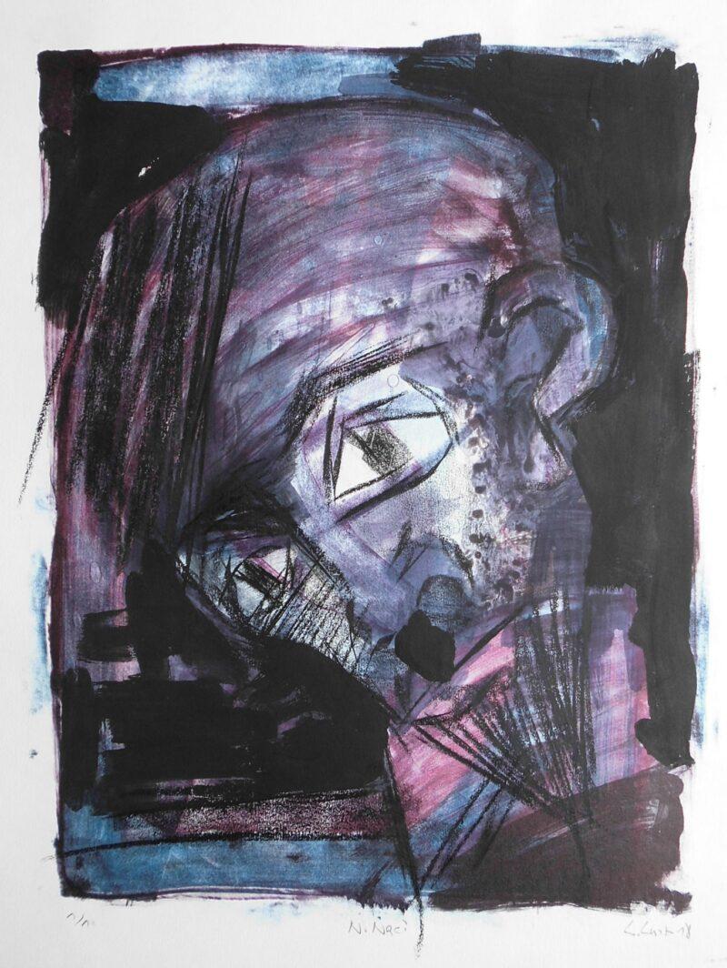 """Abbildung 1: """"Porträt Neo Naci"""" von Peter Dettmann"""