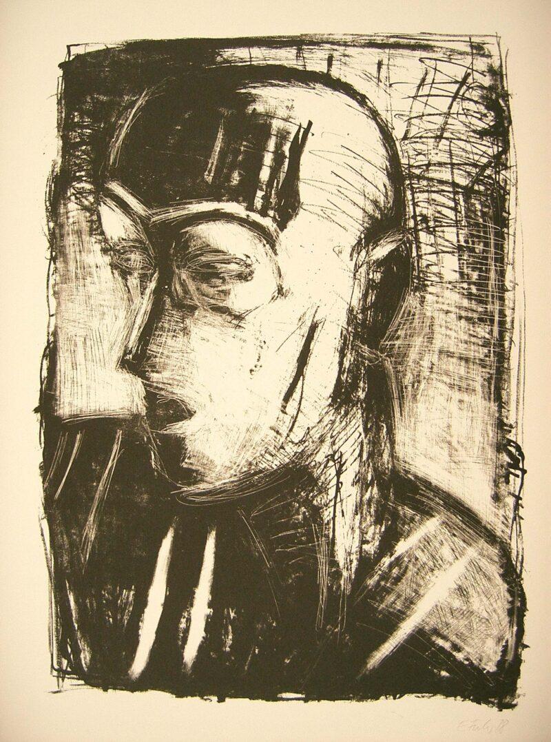 """Abbildung von """"Porträt O.H."""""""