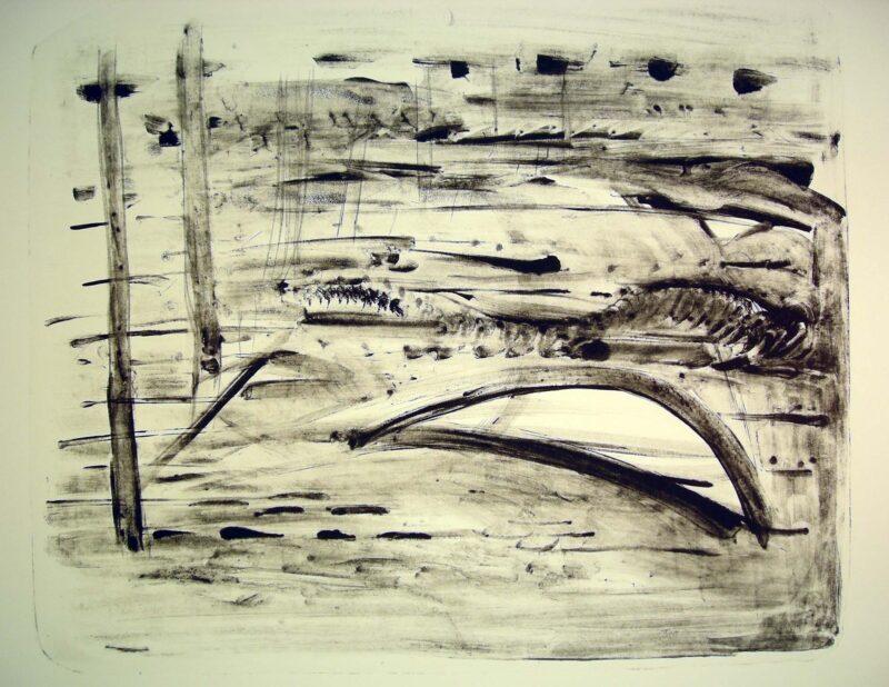 """Abbildung 1: """"(Strandlandschaft)"""" von Regina Conrad"""
