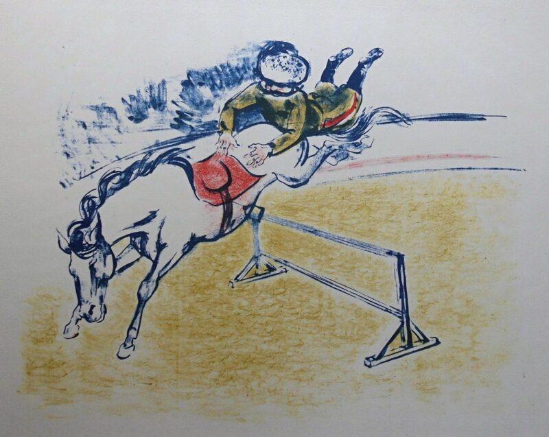 """Abbildung 1: """"Kunstreiter"""" von Fritz Duda"""