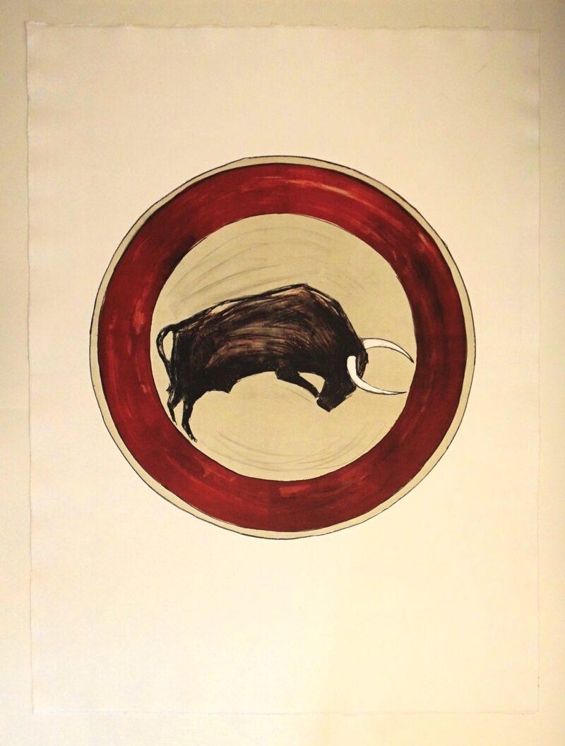 """Abbildung von """"Der Stier III"""""""