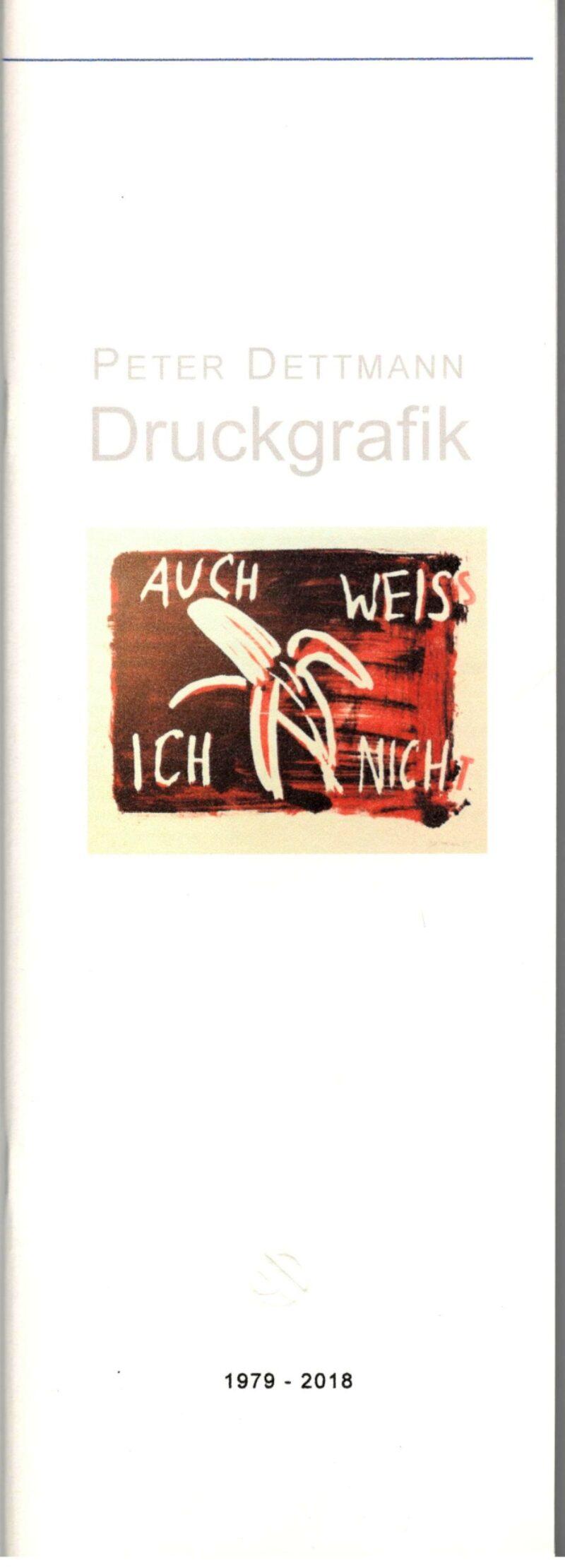 """Abbildung von """"Peter Dettmann Druckgrafik"""""""