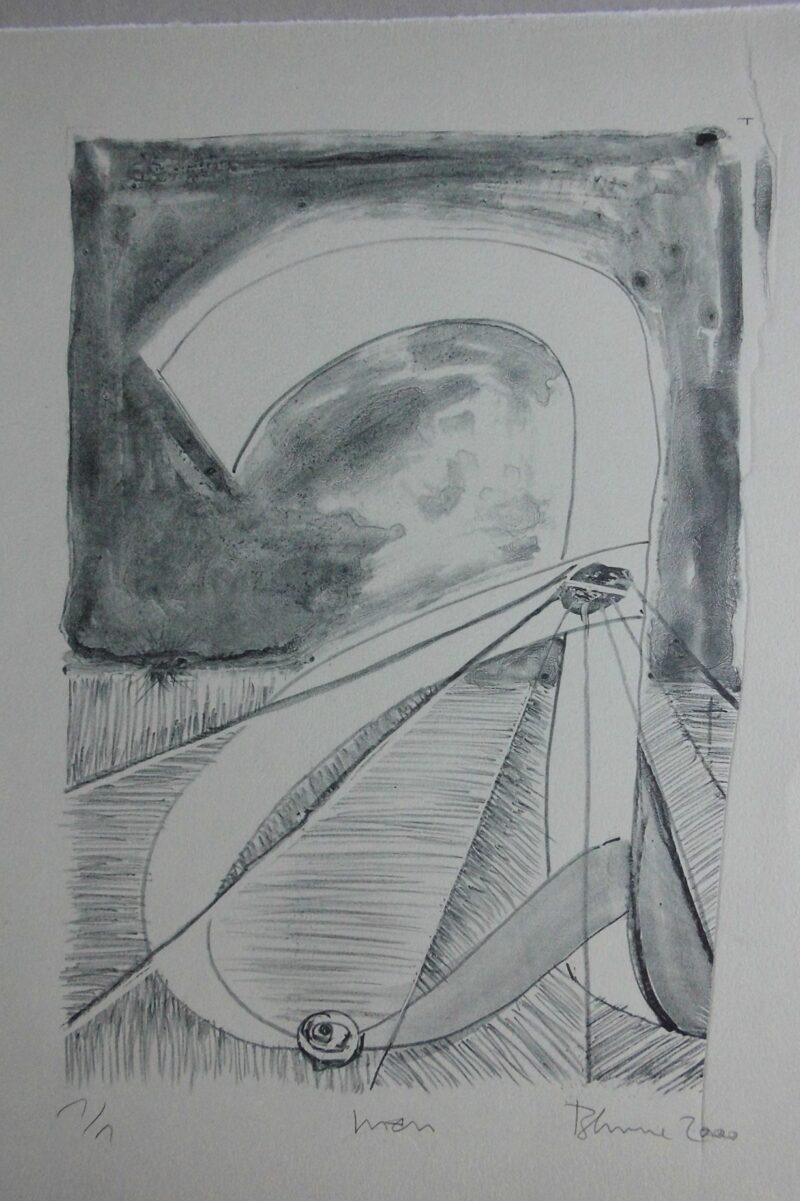 """Abbildung 1: """"amen (von Renato Blume)"""" von Peter Dettmann"""