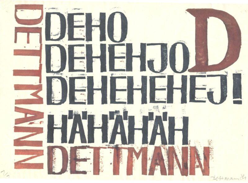 """Abbildung 1: """"DeJo"""" von Peter Dettmann"""
