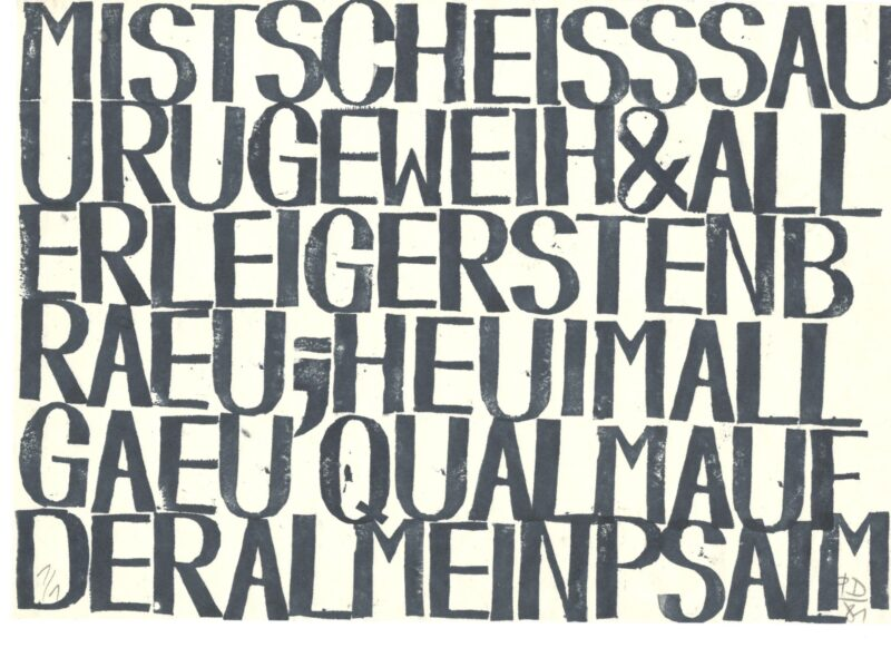 "Abbildung 1: ""HEU IM ALL"" von Peter Dettmann"