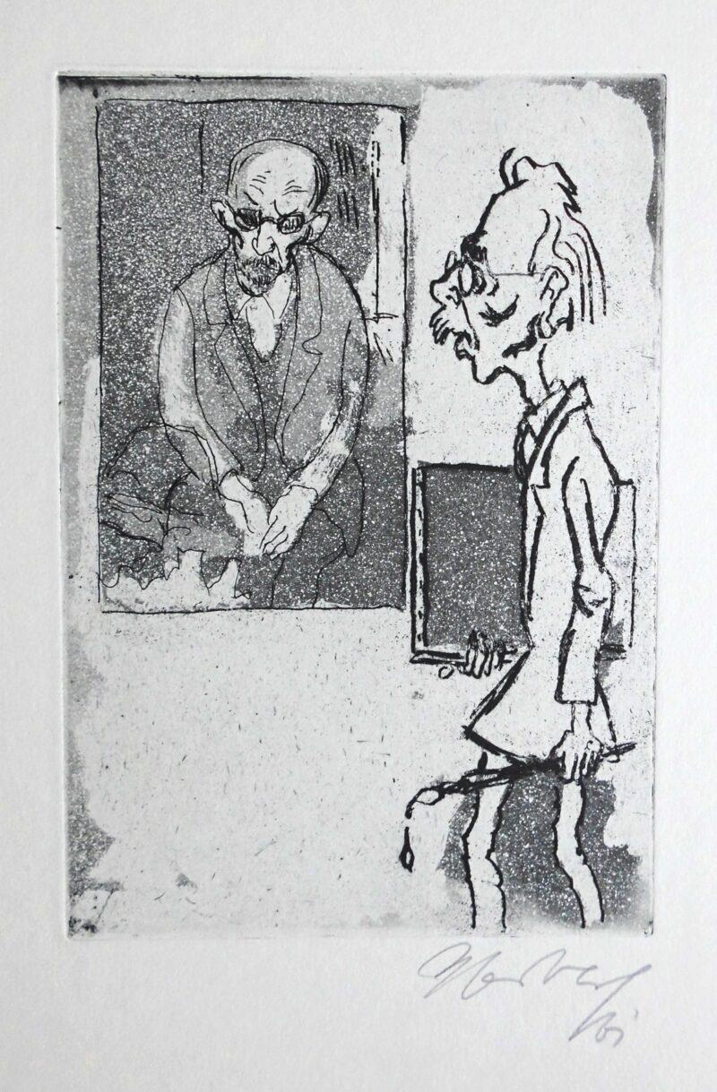 """Abbildung von """"Porträt Otto Nagel"""""""