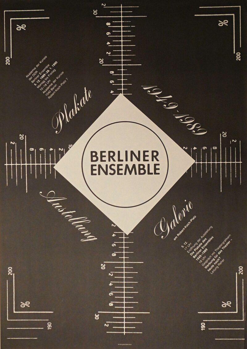 """Abbildung von """"Die Plakate des Berliner Ensembles 1949 - 1989"""""""