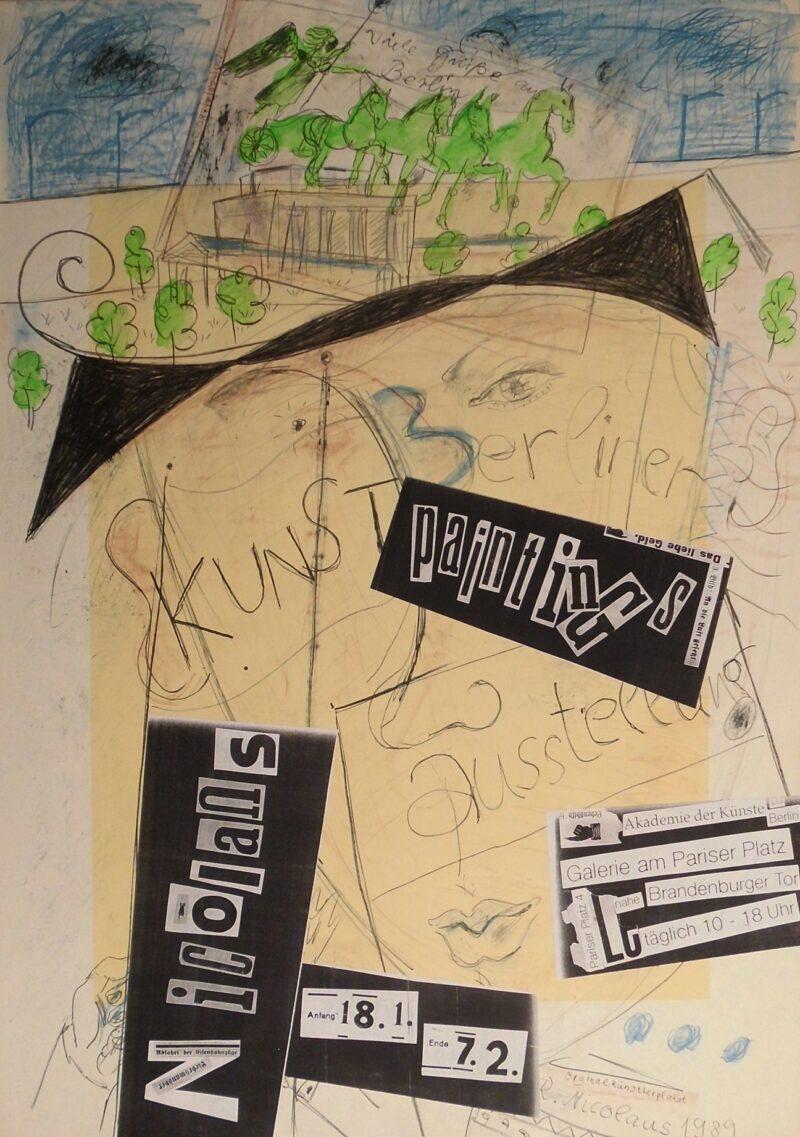 "Abbildung von ""paintings, Berlin 1990"""