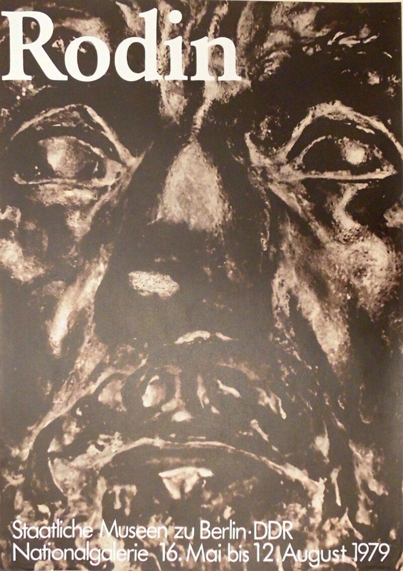 """Abbildung 1: """"Ausstellungsplakat: Rodin"""" von Autor Unbekannt"""