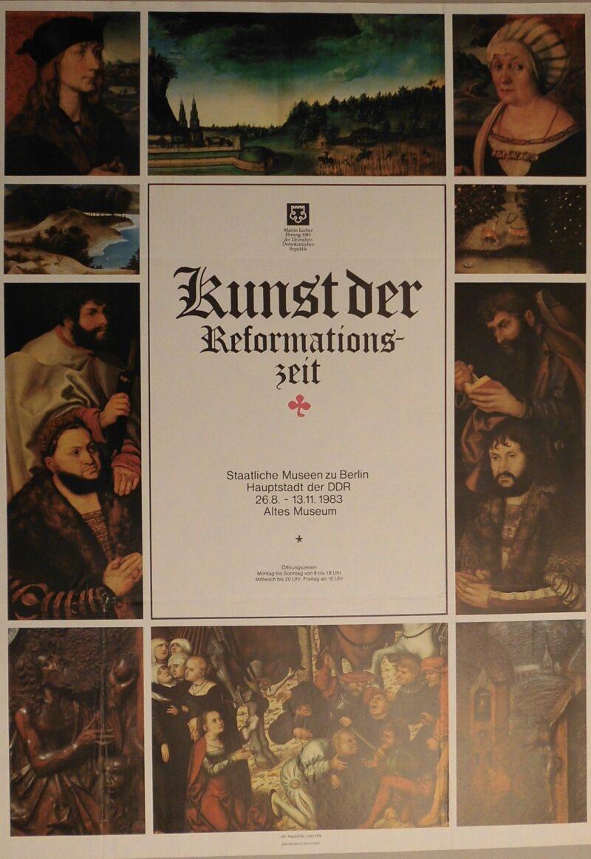 """Abbildung von """"Ausstellungsplakat: Kunst der Reformationszeit"""""""