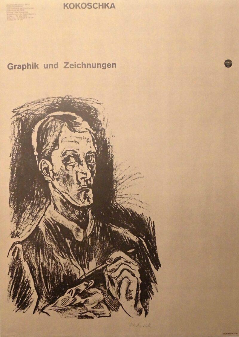 """Abbildung von """"Kokoschka Graphik und Zeichnungen"""""""