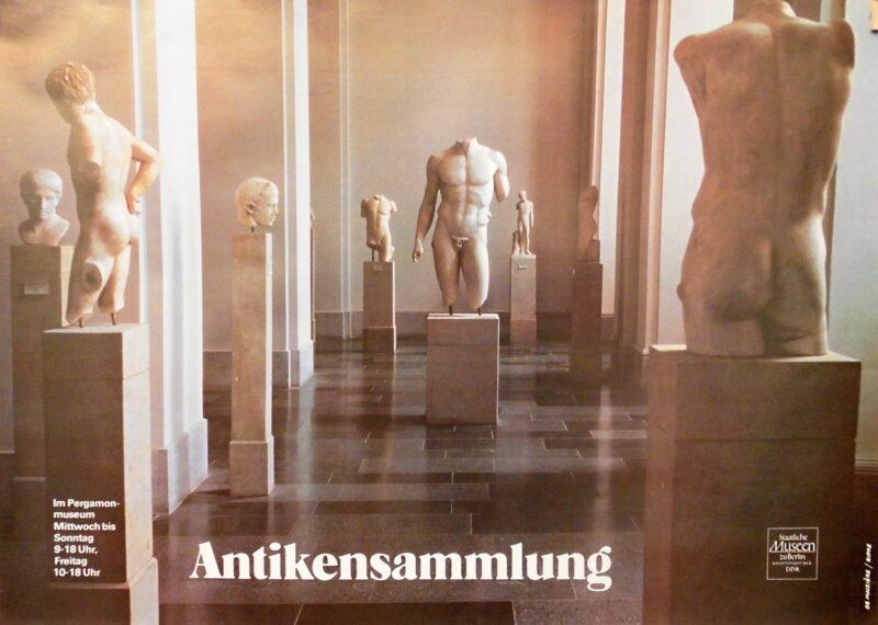 """Abbildung von """"Plakat der Antikensammlung"""""""