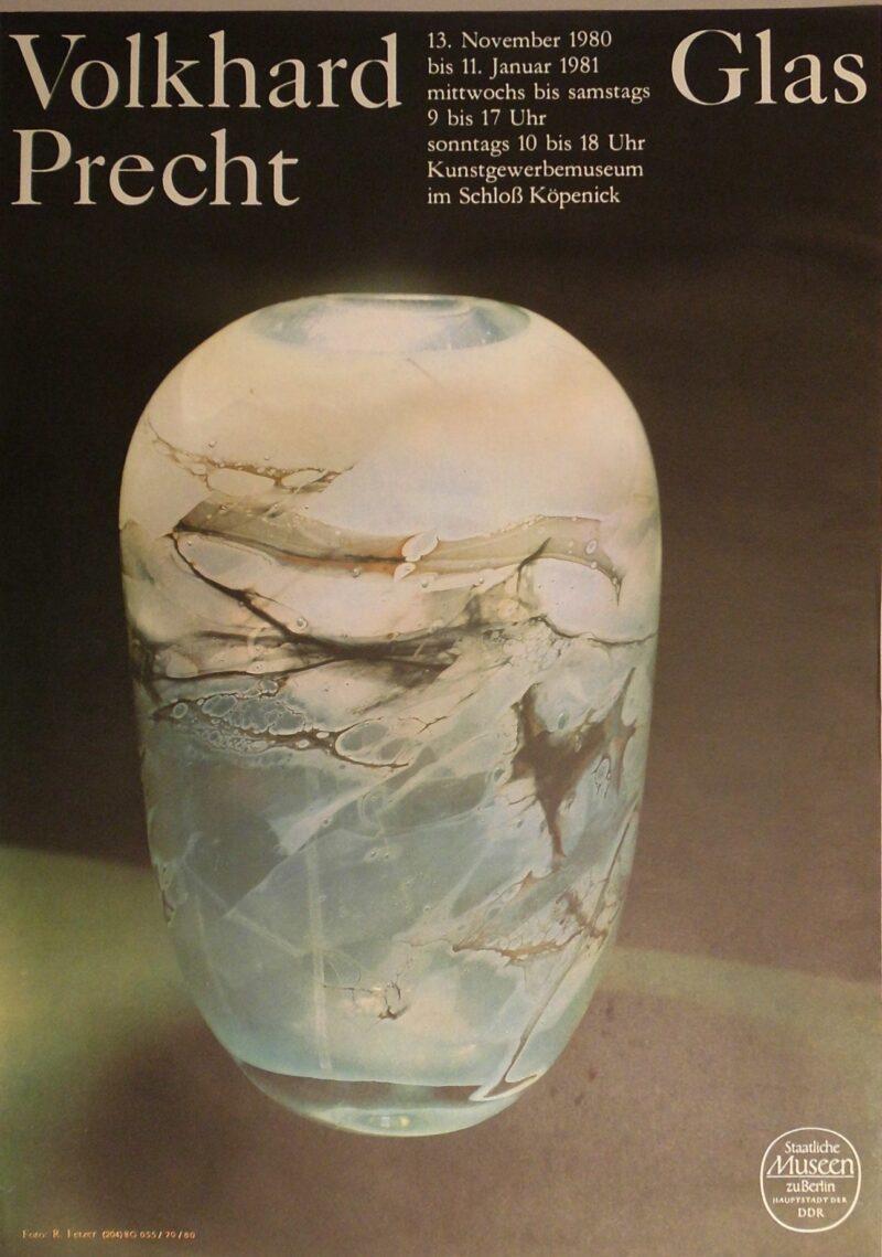 """Abbildung von """"Ausstellungsplakat: Volkhard Precht"""""""