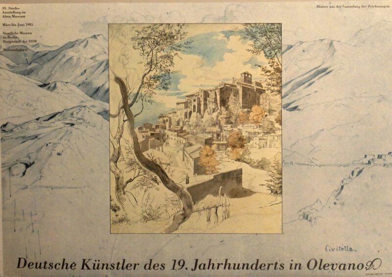"""Abbildung von """"Deutsche Künstler des 19.Jahrhunderts in Olevano"""""""