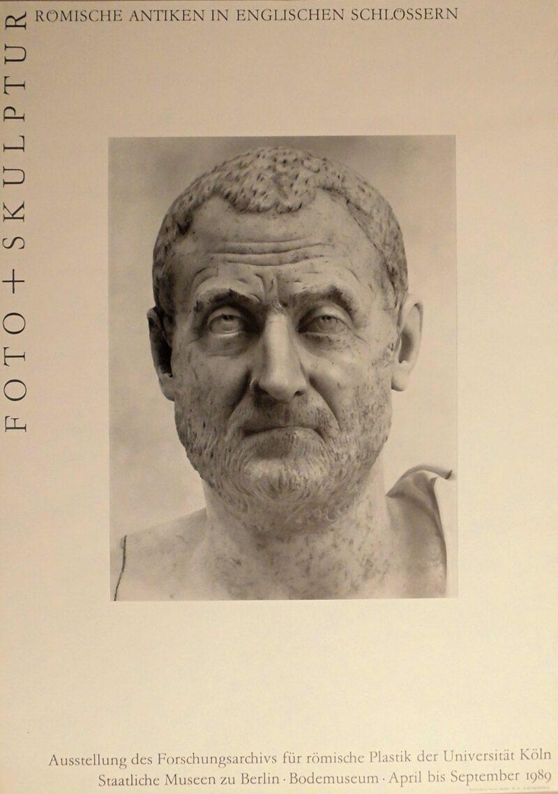 """Abbildung von """"Ausstellungsplakat: Römische Antiken in Englischen Schlössern"""""""