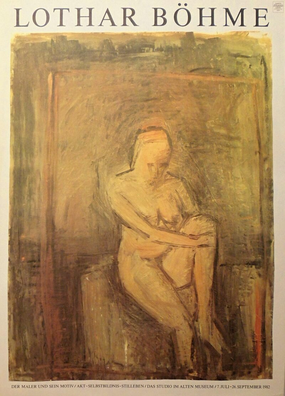 """Abbildung 1: """"Lothar Böhme der Maler und sein Motiv/Akt-Selbstbildnis-Stilleben"""" von Heinz Handschick"""